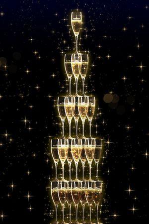 メッセージを贈って、モエのシャンパンタワーを積み上げよう。|ライフスタイル(カルチャー・旅行・インテリア)|VOGUE
