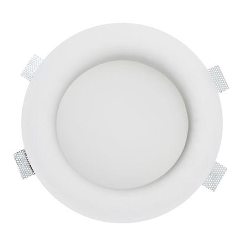 Leroy Merlin - Plafoniera da incasso fisso Como bianco Illuminazione da incasso per soffitto e parete