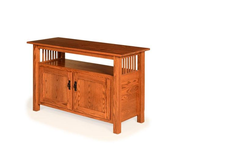 """Amish Paradise Mission 50"""" TV Stand This mission style TV stand is in style for every season."""