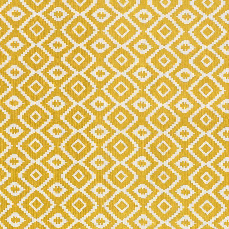 BuyJohn Lewis Nazca PVC Tablecloth Fabric, Saffron Online at johnlewis.com