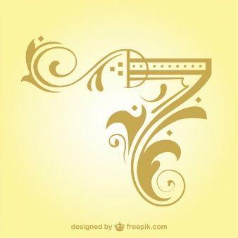 Arabesque Corner Design Element