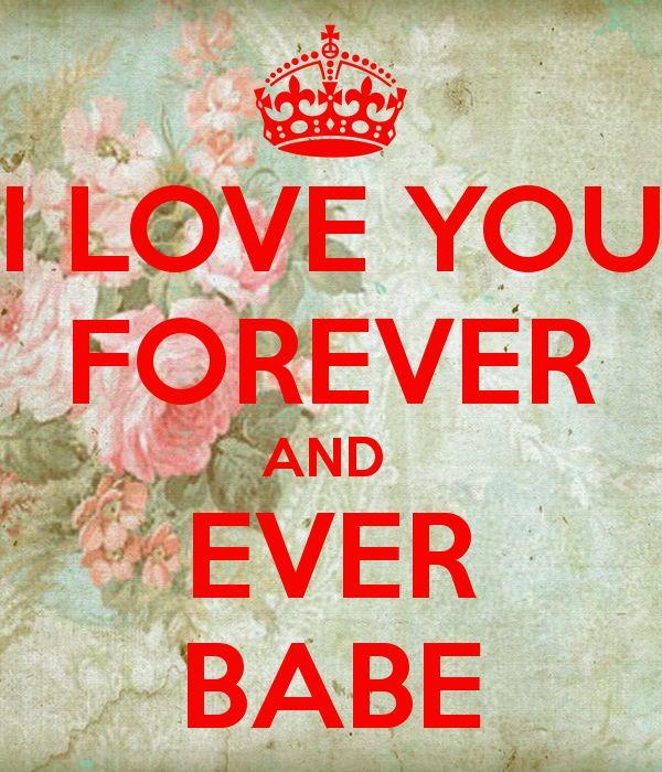 Afbeeldingsresultaat voor love you forever and ever