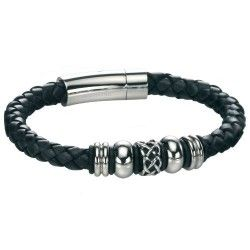 Fred Bennett Leather Celtic Bracelet #Jewellery