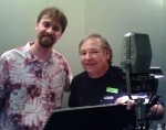 Studio Anecdote: a cricket in the studio with Frank Welker.