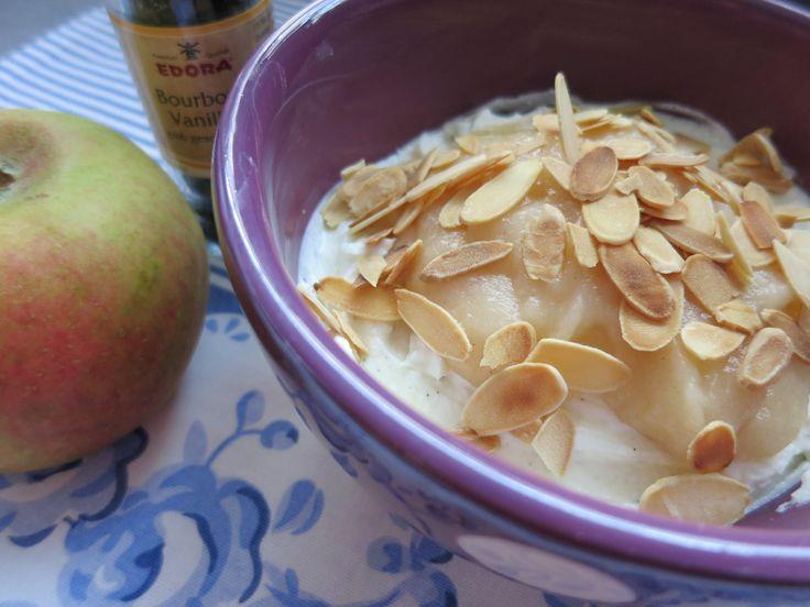 Die Herbstvariante meines geliebten Quarkfrühstücks… 1 Portion 250 gr. Quark mit 20% Fett Nach Geschmack Erythritol (ich verwende Xucker light) Etwas echt