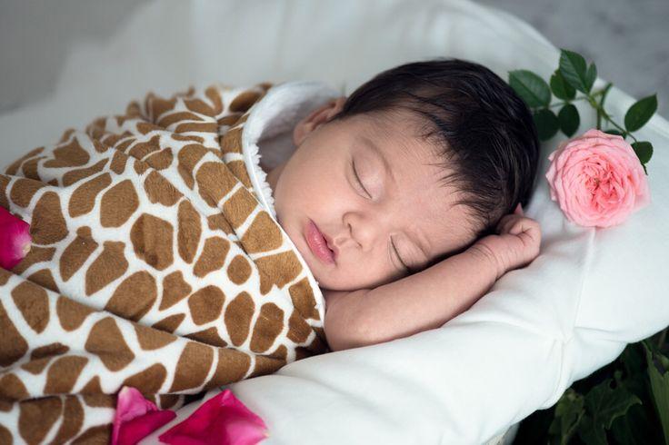 Living Textiles Diva Eva Velboa blanket nursery baby