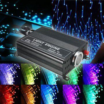 Sólo €44.34, compra mejor 2m bricolaje 16w rgb LED fibra óptica estrellas las luces de techo kit 150pcs 0.75mm + 24 IR remoto  venta en línea en pricio del wholesale. Almacén de EE.UU./UE.