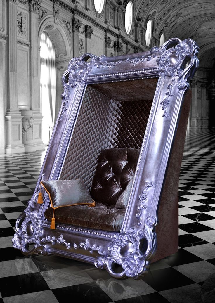Decadent Frame Chair By Slokoski   Designboom | Architecture U0026 Design  Magazine