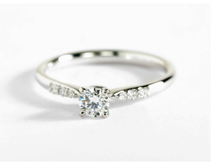 0.27 Carat Diamond Petite Diamond Engagement Ring | Recently Purchased | Blue Nile