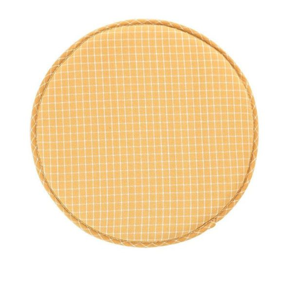 Coussin De Chaise Rond Jaune Coussin Chaise Coussin Chaise Ronde