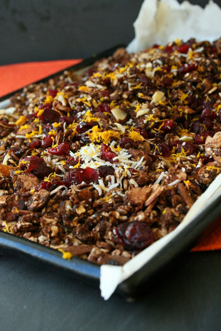 Totally Munchable Toasted Muesli Recipe