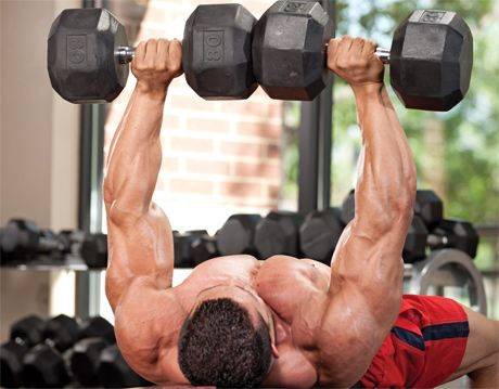 Troubleshooting: Dumbbell Bench Press - MuscleMag