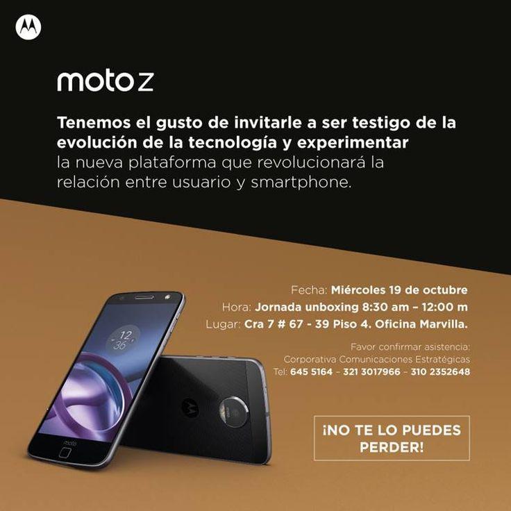 Testigo de la evolución de la tecnología @Moto_COL #MotoZ #MotoMods La nueva plataforma que revolucionará la relación entre usuario y smartphone