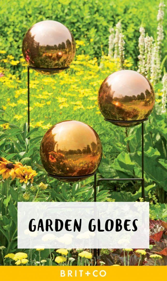 Get some serious garden inspo with these garden globe ideas.