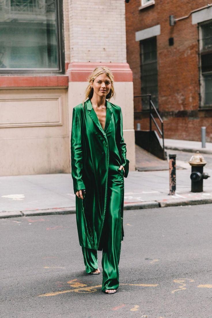 Street Style #NYFW / Día 1 Las mezclas alocadas dejan espacio a la sensatez est…