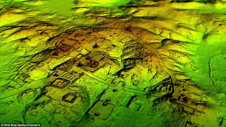 Thousands of previously unknown ancient Maya structures including pyramids, palaces and ca...