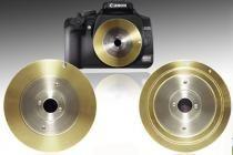 adaptador camara estenopeica para canon eos. Sistema de bayoneta y lente. Evita que el polvo ensucie el sensor. pinhole adapter