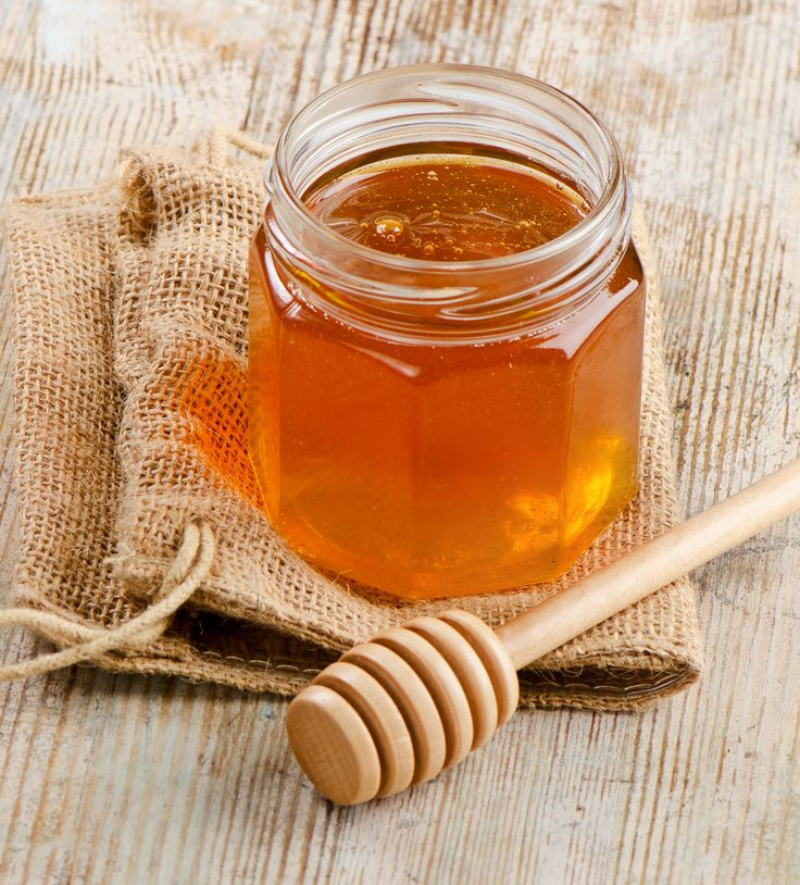 Store your favourite honey in a beautiful glass jar!