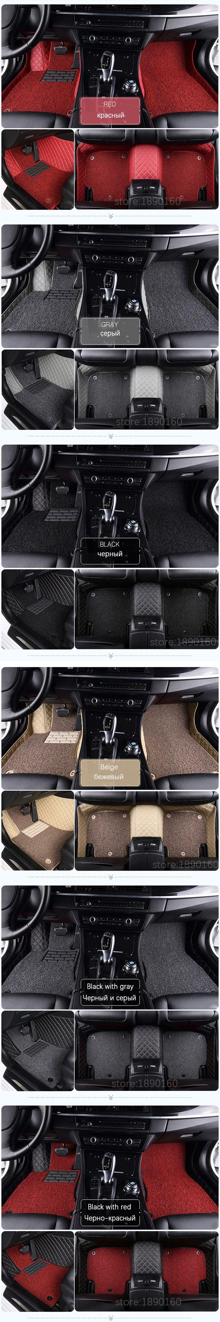 Custom car floor mats for Toyota All Models Corolla Camry Rav4 Auris Prius Yalis Avensis 2014 accessories car styling floor mat