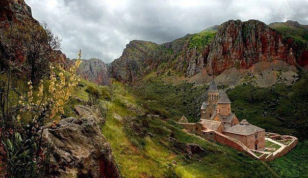 Typical Armenian lands... Armenian Food