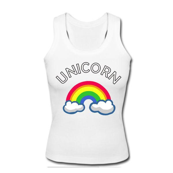 Unicorn Rainbow Tanktop