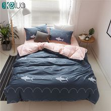 Like and Share if you want this  KELUO Luxury Bedding Set Duvet Cover Bedclothes Print Bedding sets Shark  American style 3/4PCS AU Queen   Tag a friend who would love this!   FREE Shipping Worldwide   Get it here ---> http://bohogipsy.store/products/keluo-luxury-bedding-set-duvet-cover-bedclothes-print-bedding-sets-shark-american-style-3-4pcs-au-queen/