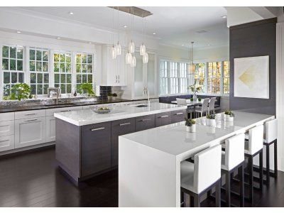 Henry co brings youthful freshness to a traditional darien home