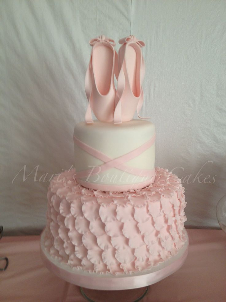 Ballerina Cake for my Princess - by Mari's Boutique Cakes