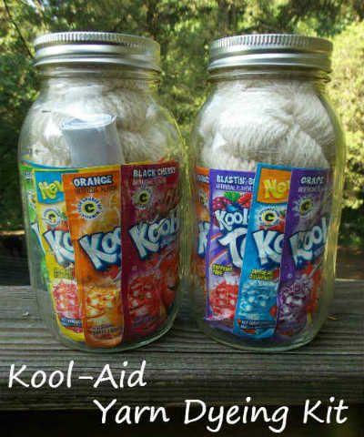 Kool-Aid Yarn Dyeing Kit, Fiberartsy.com