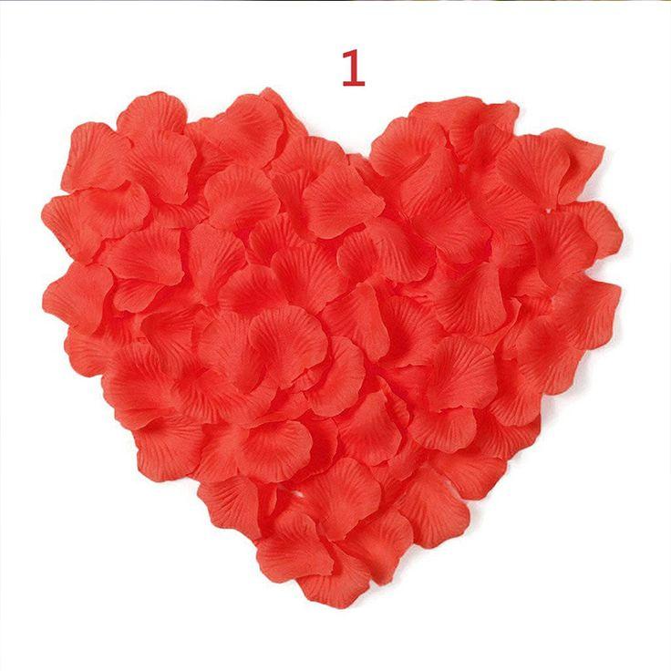 جديد وصول 2017 بالجملة 1000 قطعة/الوحدة الزفاف ديكورات رومانسية الاصطناعي الزهور البوليستر الزفاف بتلات rp001