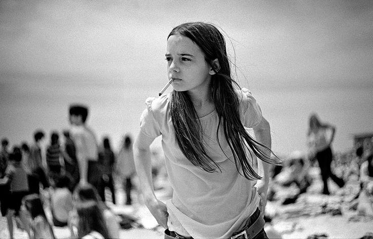 Fotografias nostálgicas da juventude nos anos 70