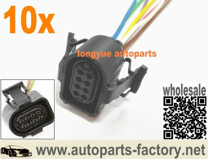 long yue, 8 way Throttle Body Pigtail case for 9701 A4 A6