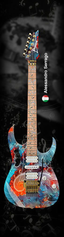 How hot is this guitar? Vote for it! at http://hoth.unstuckguitar.com/ Ibanez…