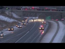 Cobourg Highway of Heroes procession