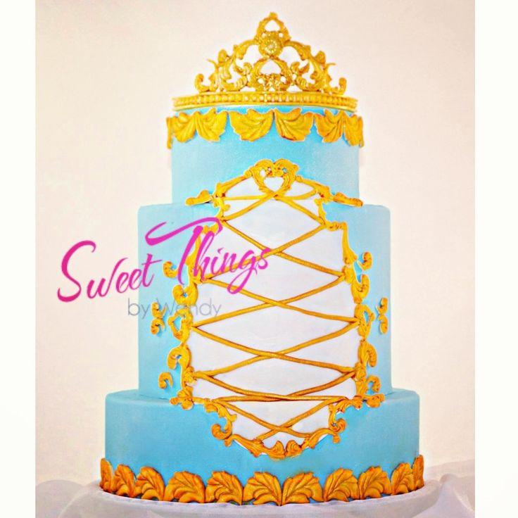 Rococo inspired regal cake   sweetthingsbywendy.ca