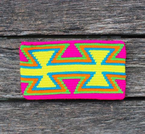 Mobolso - Wayuu Mochilas - Copy of Wayuu Clutch Purse - Lalia