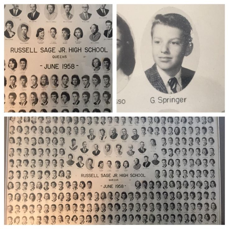 I see your real actors' photos and raise you Jerry Springer's 1958 Jr. High Composite photo