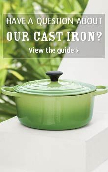 """Learn all about cast iron with the """"Le Creuset"""" Cast Iron Guide: Dutch Oven 5 qt. """"Expensive but nothing like it and should last a lifetime!! I need one! A Dutch oven is the best multi-purpose size if you can get only piece in the collection."""""""