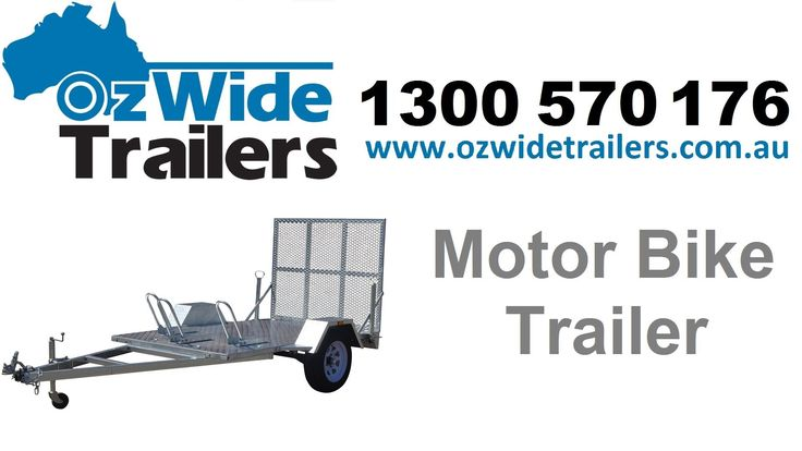 Motorbike Trailer - Oz Wide Trailers