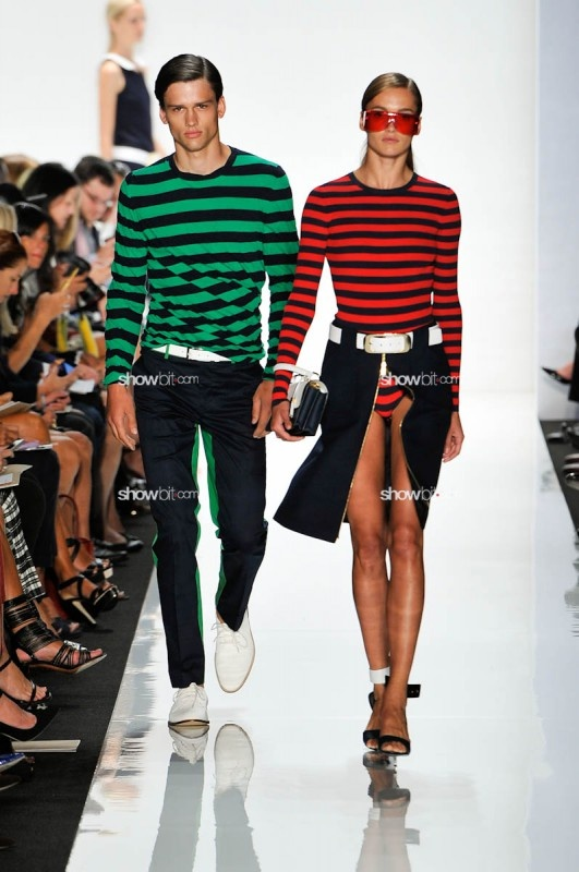 Michael Kors SS/2013 http://www.showbit.com/women-fashion/2012/09/michael-kors-spring-summer-2013/#