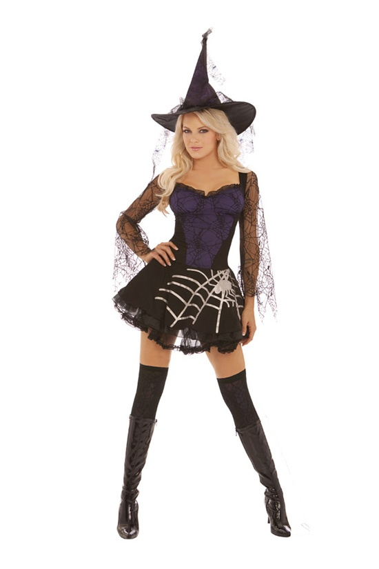 Black halloween dress spacer x s