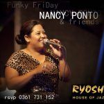 RYOSHI FUNKY FRIDAY NIGHT With NANCY PONTO and friends , funk, soul, blues January 20th, 2017