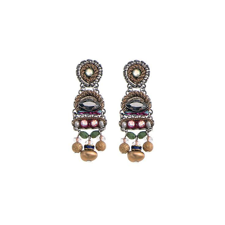 Golden Dawn Chant Earrings   Ayala Bar Hip Collection   Summer 2016