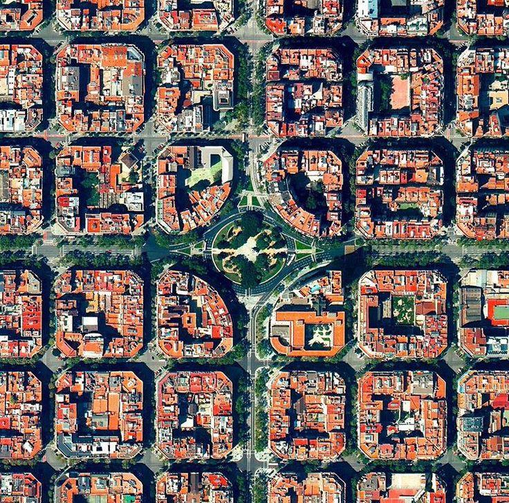 Barcelona Via repostapp and and dailyoverview