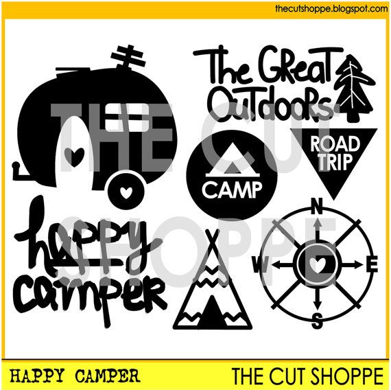 47 Best Camping Svg Images On Pinterest