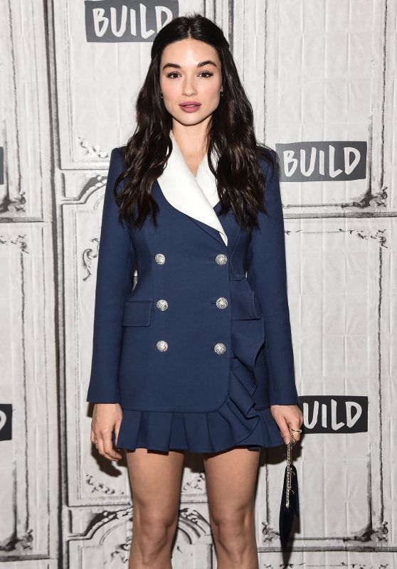 Image result for Crystal Reed aol build