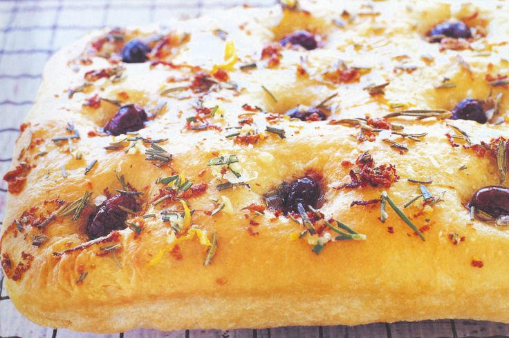 Orange & Rosemary Focaccia Recipe - Taste.com.au