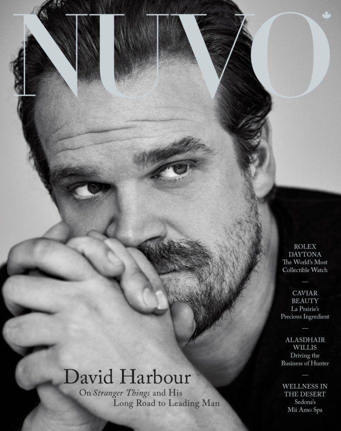 David Harbour Cover, Winter 2017
