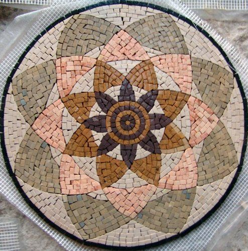 16 Geometric Mosaic Pattern Tile Accent Piece Insert by mozaico. $115.00. Mosaics have endless uses and infinite possibilities! They can be used indoors or outdoors, be part of your kitchen, decorate your bathroom and the bottom of your pools, cover walls and ceilings, or serve as frames for mirrors and paintings.