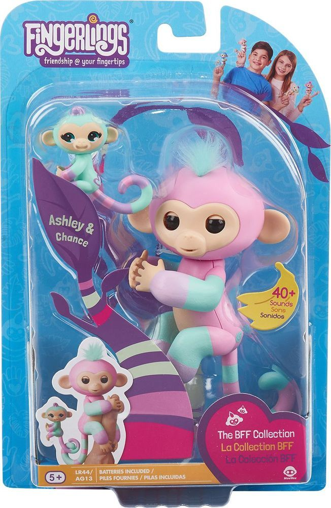Collection Here Wowee Fingerlings Pink Bella Fingerling Beautiful In Colour Electronic, Battery & Wind-up Other Interactive Toys
